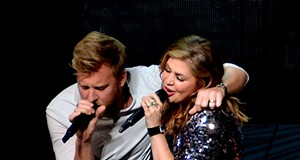 Lady Antebellum Performing at Blossom Music Center