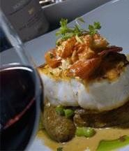 Lago's Chilean sea bass showcases chef Jeff Fisher's talents. - WALTER  NOVAK