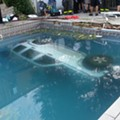Lakewood Woman Literally Crashes Into Cleveland Pool Party