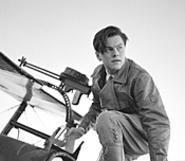 Leonardo DiCaprio is charming as a fantasy version of - Howard Hughes.