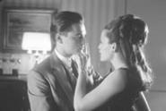 Leonardo DiCaprio (with Jennifer Garner) doesn't hide his glee in portraying kiddie con man Frank Abagnale Jr.