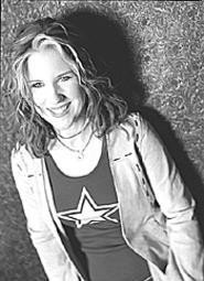"""Lesbian singer-songwriter Jen Foster (who'd rather - you didn't dwell on the """"lesbian"""" part)."""