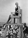 Lifeguard stand, 1960s.