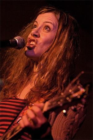 Lisa of Wussy, at the Beachland, Friday, November 16. - WALTER NOVAK