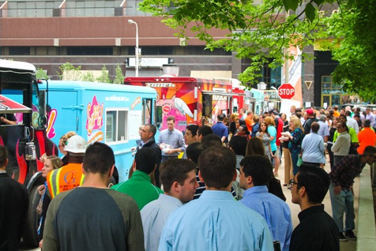Local Food Truck Events For Every Day Of The Work Week Food