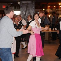 10 of Cleveland's Best Themed Restaurants Located on East 55th Street in Cleveland, this Slovenian themed complex is the ultimate beer garden experience in Northeast Ohio. Live music and dancing, and Slovenian delights make this a must try.