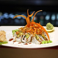 The 10 Best Sushi Restaurants In and Around Cleveland Located right on the square in downtown Medina, The House of Hunan showcases a Sweet Potato Roll with tempura fried sweet potato, cucumber, and eel sauce. Photo Courtesy of Ginko, Website