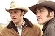 Lonesome cowboys: Ledger and Gyllenhaal.