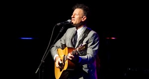 Lyle Lovett Performing at Hard Rock Live