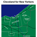 Map porn: Cleveland for New Yorkers