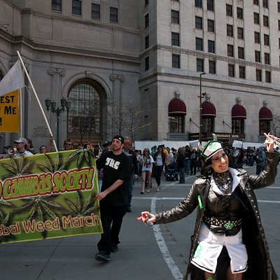 Marijuana March on Public Square