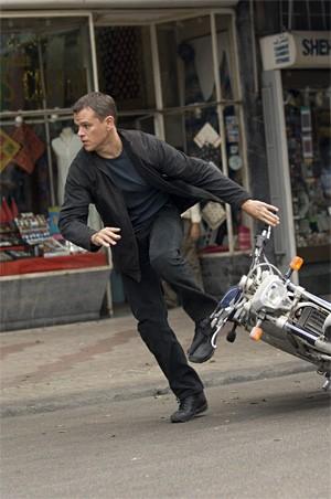 Matt Damon, Bourne to run.