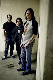 Matt Pike (right) is a guitar god who loves to shred shirtless.