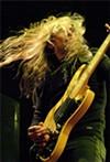 Megadeth's guitarist megashreds at Time Warner Cable Amphitheater.
