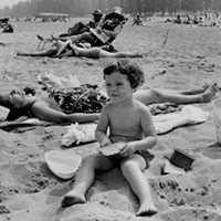15 Vintage Cleveland Beach Photos Mentor Headlands, 1968.