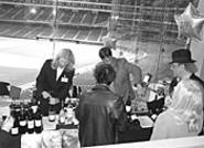 Merlot, Shiraz, and Chardonnay mix and mingle at the - World Series of Wine.