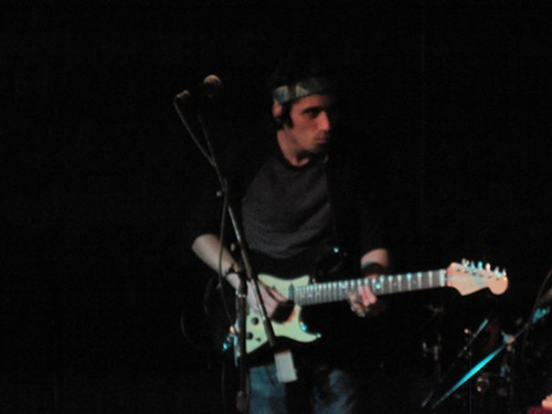 Mike Gantzer on guitar