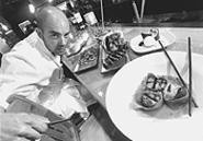 Mo' to love: Chef Michael Herschman and his art. - WALTER  NOVAK