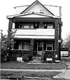 Moyer often returned to the big house at Mt. Auburn      and East 102nd Street.