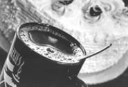 Mug shot: Coffee's the co-star at Talkies. - WALTER  NOVAK