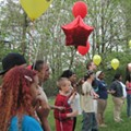 Balloons Released in Honor of Michelle Knight and All Victims