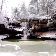Video: A Wintery Trip to Old Man's Cave