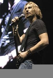 Nickelback's Chad Kroeger, July 3 at the Q. - WALTER  NOVAK