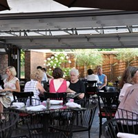 The Top 10 Dog Friendly Patios in Cleveland Nighttown- 12387 Cedar Rd 216-795-0550; nighttowncleveland.com Photo Courtesy of LUXE, Facebook