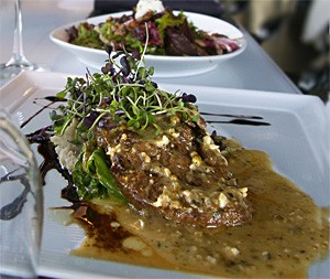 "No pretense here: Gardein ""Steak Scaloppini au Poivre"" will rock your tastebuds. - WALTER NOVAK"