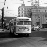 20 Photos of Old Cleveland Streetcars North Broadway, circa 1930-59 Cleveland Memory Project