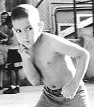 Now showing: One of Boxers and Ballerinas' - young fighters.