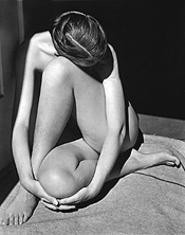 """Nude,"" by Edward Weston, photograph."