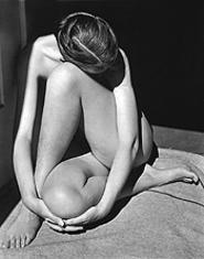 """Nude,"" by Edward Weston, photograph."