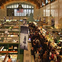 11 Awesome Northeast Ohio Distractions OM NOM NOM - Go get lunch at the West Side Market today. Hell, just amble about the place for a few hours until you find just the right eats. ERIK DROST/FLICKR CREATIVE COMMONS