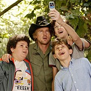 Owen Wilson's a bad fit for an ass-kicking bodyguard in <i>Drillbit Taylor</i>.