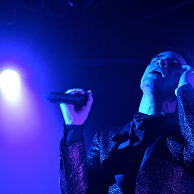 Panic at the Disco performing last night at House of Blues