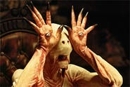 Pan's Labyrinth is a feast for the eyes.