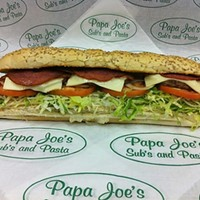 14 Places to Get Great Subs In and Around Cleveland, According to Reddit Papa Joe's Subs and Pastas is located at 564 E 200th St, Euclid. Photo Courtesy of Cleveland Pickle, Facebook