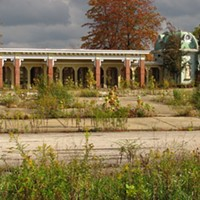 15 Photos of Abandoned Geauga Lake Amusement Park Park entrance Photo via Jeremy Thompson, Flickr Creative Commons