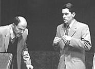 Paul Floriano (left) and Dan Folino lead The - Fix's mostly able cast.