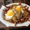 Perfectly crispy frites smothered with whole grain mustard, mozzarella cheese curd & brown gravy. Then finished off with fried eggs and the best for last -- bacon! The Greenhouse Tavern is located at 2038 E 4th St. Call 216-443-0511 or visit the greenhousetavern.com for more information.