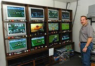 Phil Steele's office is what football junkies' dreams are made of. - WALTER NOVAK