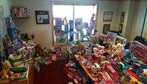 Photo: Zeppe's Toy Drive for the Kids of Rainbow Babies and Children's