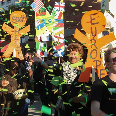 Photos from the CSU Green and Gold Parade and Block Party