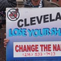 Photos from the Home Opener Anti-Wahoo Protest