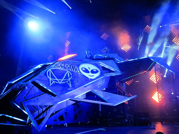 Photos from the Skrillex Concert at Jacobs Pavilion at Nautica