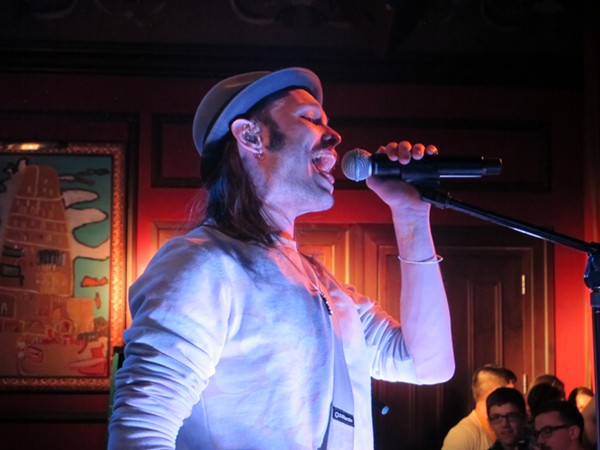 Photos of Cherub performing at the Ones to Watch showcase at House of Blues Cambridge Room