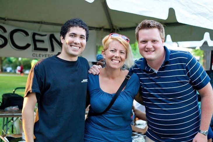 Photos of the Scene Events Team Driven By Fiat of Strongsville at Wade Oval Wednesday