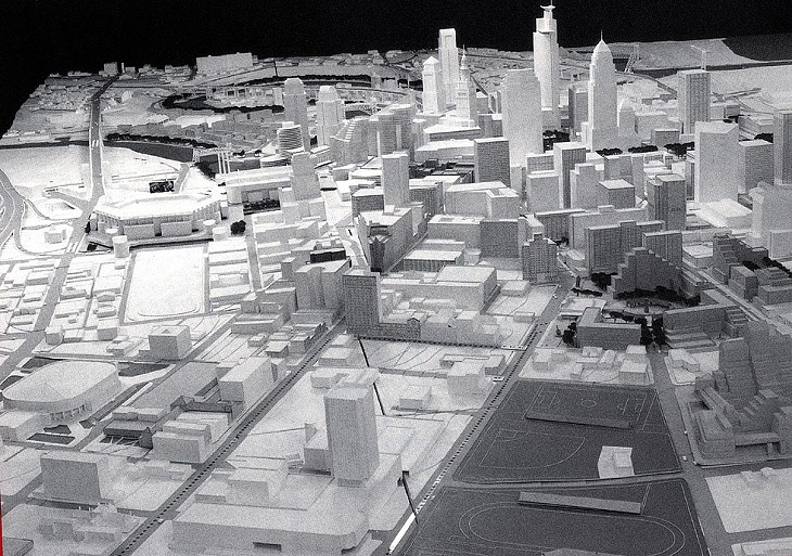 PHOTOS: This is What Cleveland was Supposed to Look Like by the Year 2000