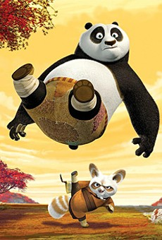 Po the panda is voiced by — and shaped like — Jack Black.